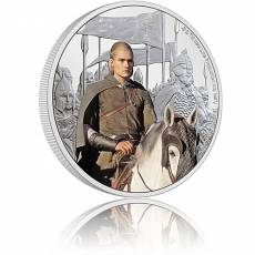 1 oz Silbermünze Der Herr der Ringe Classic - Legolas 5. Motiv 2021