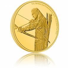 Goldmünze 1/4 oz Der Herr der Ringe - Legolas PP 5. Ausgabe 2021