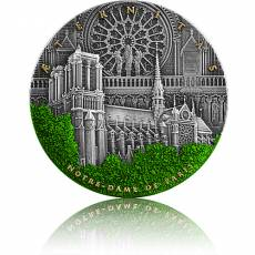Silbermünze 2 oz Notre Dame Paris Aeternitas 2021