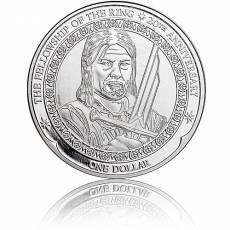 1 oz Silbermünze 20. Jubiläum - Der Herr der Ringe - Boromir 2021
