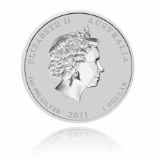 Australien Lunar Hase 1oz Silber (2011)