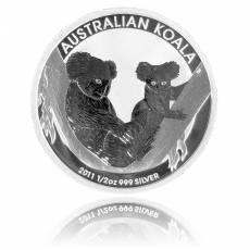 Australischer Koala 1/2 Unze Silber (2011)