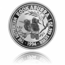 Austral. Kookaburra 1 Unze Silber (1994)