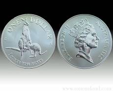 Austral. Känguruh 1 Unze 999/1000 Silber (1996)