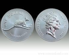 Austral. Känguruh 1 Unze 999/1000 Silber (1994)