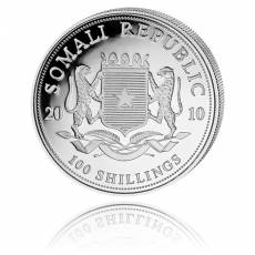 Somalia Elefant 1 Unze Silber (2010)
