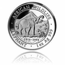 Somalia Elefant 1 Unze Silber (2006)