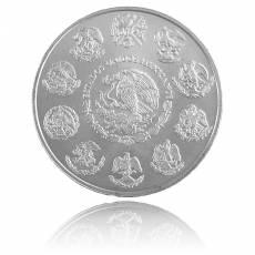 1 oz Aguila Zacatuche 999/1000 Silber (2001)