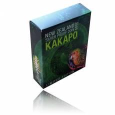 Kakapo 1 Oz Silber Proof + Box + Zertifikat (2009)
