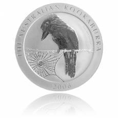 Austral. Kookaburra 2008 1 Unze 999/1000 Silber