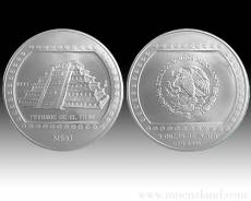 5 oz Pirámide El Tajín 999/1000 Silber (1996)