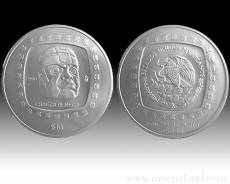 5 oz Cabeza Olmeca 999/1000 Silber (1996)