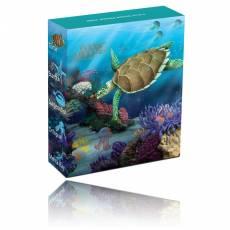 Sea Life II Turtel 1/2 Oz Silber + Box + Zertifikat