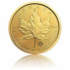 Goldmünze 1 Unze Maple Leaf (versch. Jahre)