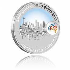 Shanghai Expo Shanghai Cityscape 1 oz Silber (2010)