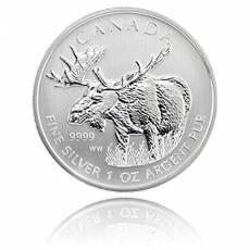 1 Unze Silber Canada Elch-Wildlife Serie 2011
