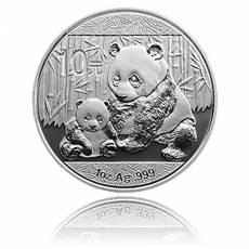 China Panda 1 Unze Silber (2012)