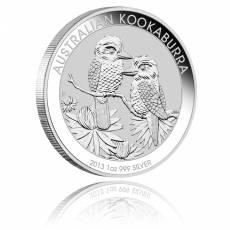 Austral. Kookaburra 2013 1 Unze 999/1000 Silber