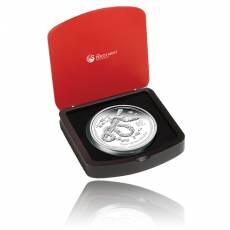 Austr. Lunar Schlange 1 Kg Silber Polierte Platte 2013