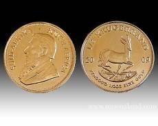 Krügerrand 1/2 Unze Gold (versch. Jahre)