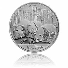 China Panda 1 Unze Silber (2013)