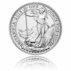 Britannia 1 Unze Silber (2013)