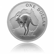 Austral. Känguruh 1 Unze 999/1000 Silber (2000)