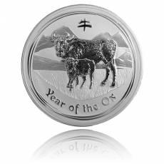 Australien Lunar Ochse 1 kg Silber