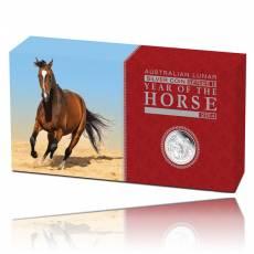 Australien Lunar Pferd  3-Coin Set Silber (2014)