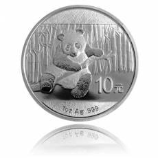 China Panda 1 Unze Silber (2014)