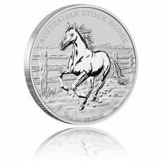 1 Unze Silber Australien Stock Horse 2014