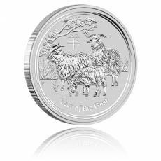 Australien Lunar Ziege 10 Unzen Silber (2015)