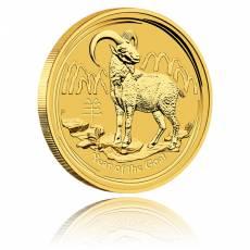 Australien Lunar Ziege 1/2oz Gold (2015)