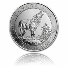 3/4 Unze Silber 999.9/1000 Kanada - Grauwolf (2015)