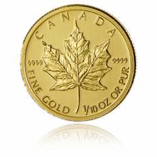 1/10 Unze Gold Maple Leaf (versch.Jahre)