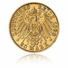 20 Reichsmark Gold Wilhelm