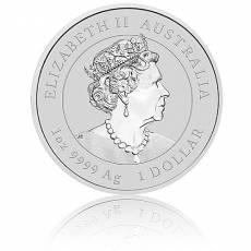 1 Unze Silbermünze Australien Lunar III Ochse 2021