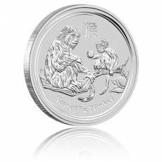 Australien Lunar Affe 10 Unzen Silber (2016)