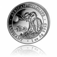 Somalia Elefant 1 Unze Silber (2016)