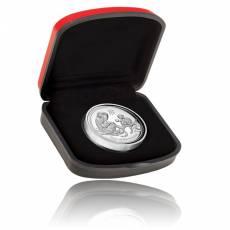 Austr. Lunar Affe 1 oz Silber Polierte Platte High Relief 2016