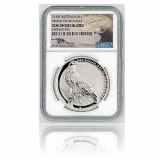 Australien 1$ Wedge Tailed Eagle (2016) 1 Oz Silber PCGS GEM BU