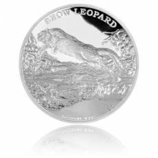 1 oz Silber Schneeleopard PP 2016