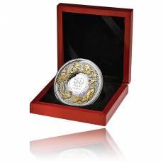 5 oz Silber 50 Jahre Dezimalwährung Niue Island 2016
