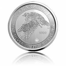 1,5 Unzen Silber Schneefalke (Snow Falcon) 2016
