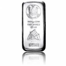 1 kg Silber Argor Heraeus Fiji Münzbarren