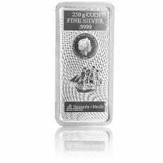 250 gramm Silber Cook Islands Münzbarren 2020
