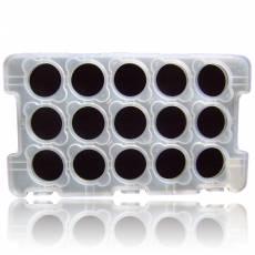 Münztableau für 15 Stück China Panda 30 gramm