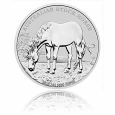1 Unze Silber Australien Stock Horse 2016