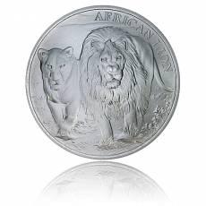 1 oz Silber African Lion Kongo (2016)