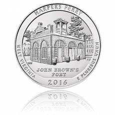 5 oz Silber US- Mint West Virginia - Harpers Ferry (2016)